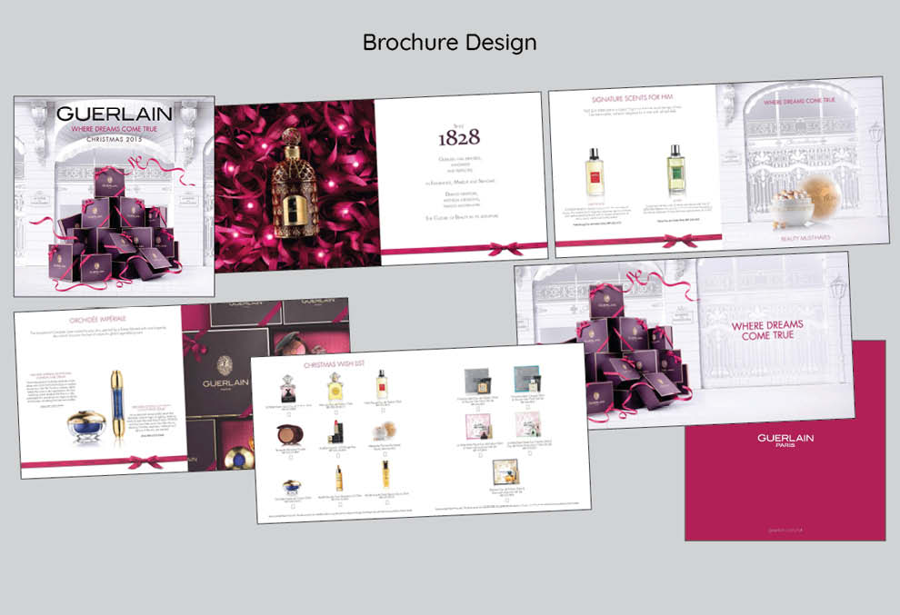 Practical artwork and design of brochure